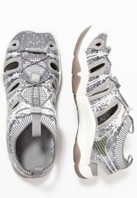 Keen - EVOFIT ONE - Walking sandals - grey/white - 1