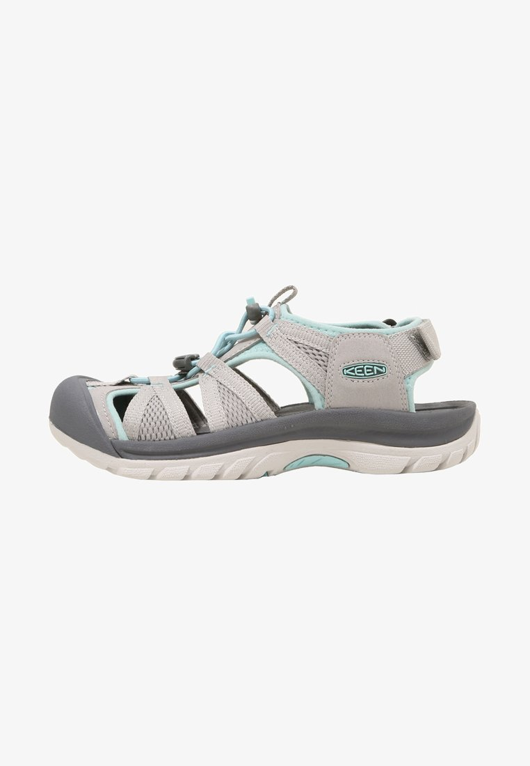 Keen - VENICE II H2 - Walking sandals - paloma/pastel turquoise