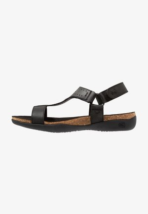 ANA KACI T-STRAP - Walking sandals - black