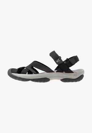 KIRA ANKLE STRAP - Walking sandals - black