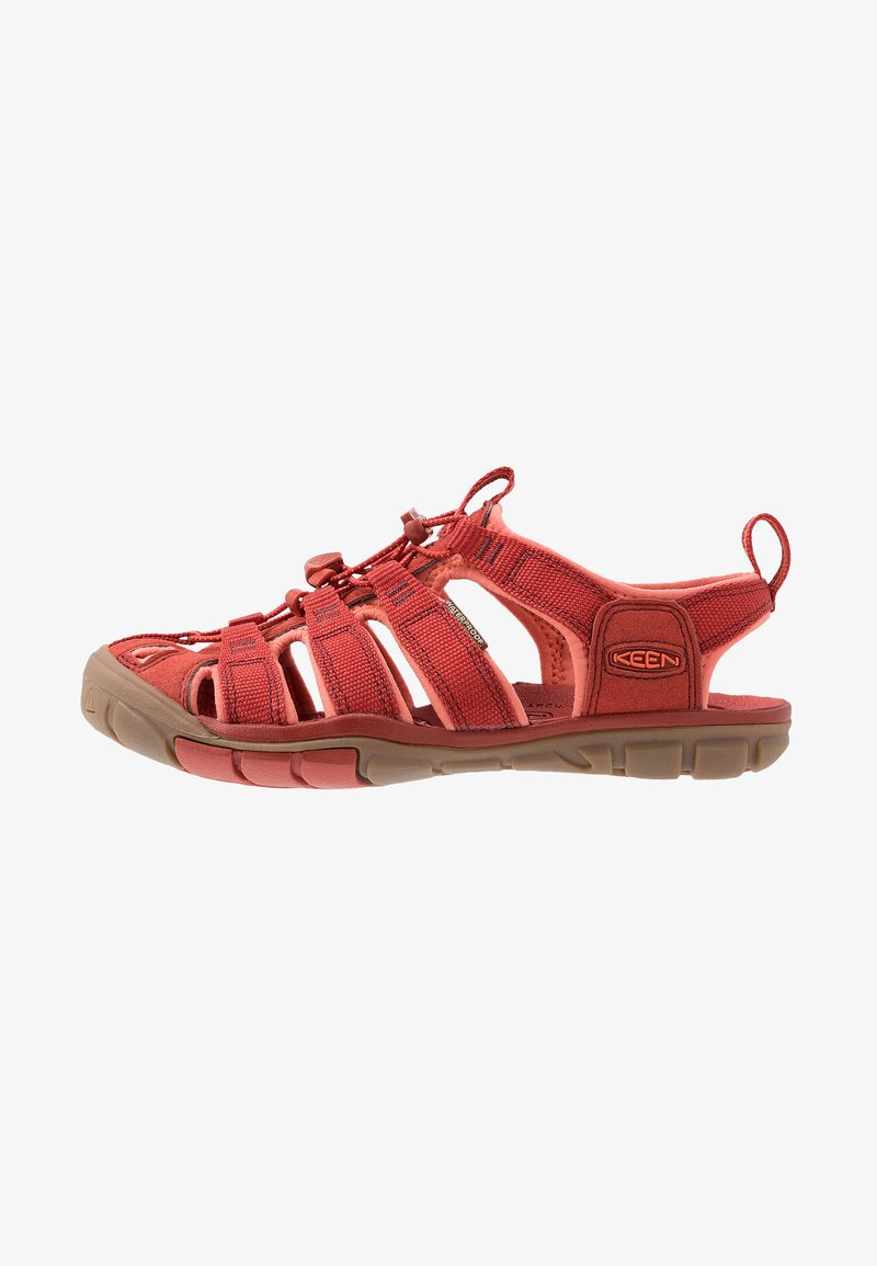 Keen - CLEARWATER CNX - Tursandaler - dark red/coral