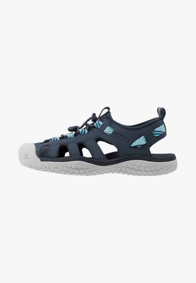SOLR SANDAL - Walking sandals - navy/blue mist