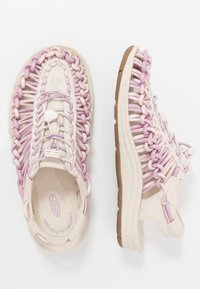 Keen - UNEEK - Walking sandals - birch/dawn pink - 1