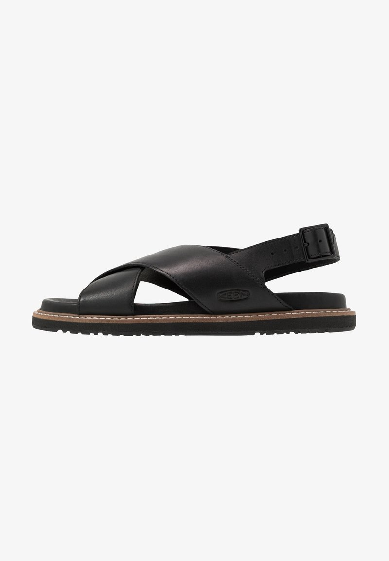 Keen - LANA CROSS STRAP - Outdoorsandalen - black