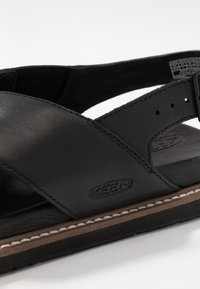 Keen - LANA CROSS STRAP - Outdoorsandalen - black - 5