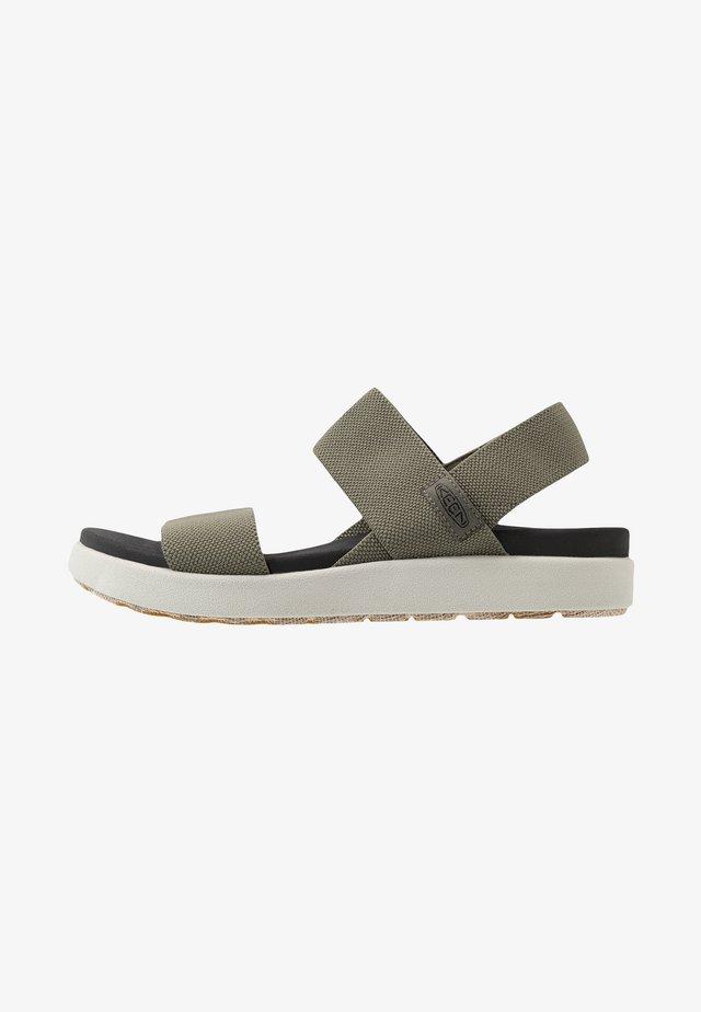 ELLE BACKSTRAP - Walking sandals - dusty olive