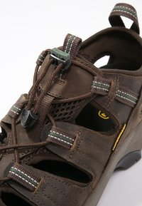 Keen - ARROYO II - Obuwie hikingowe - slate black/bronze green - 5