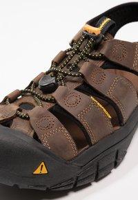 Keen - NEWPORT - Walking sandals - brown - 5