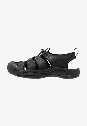 NEWPORT - Walking sandals - black