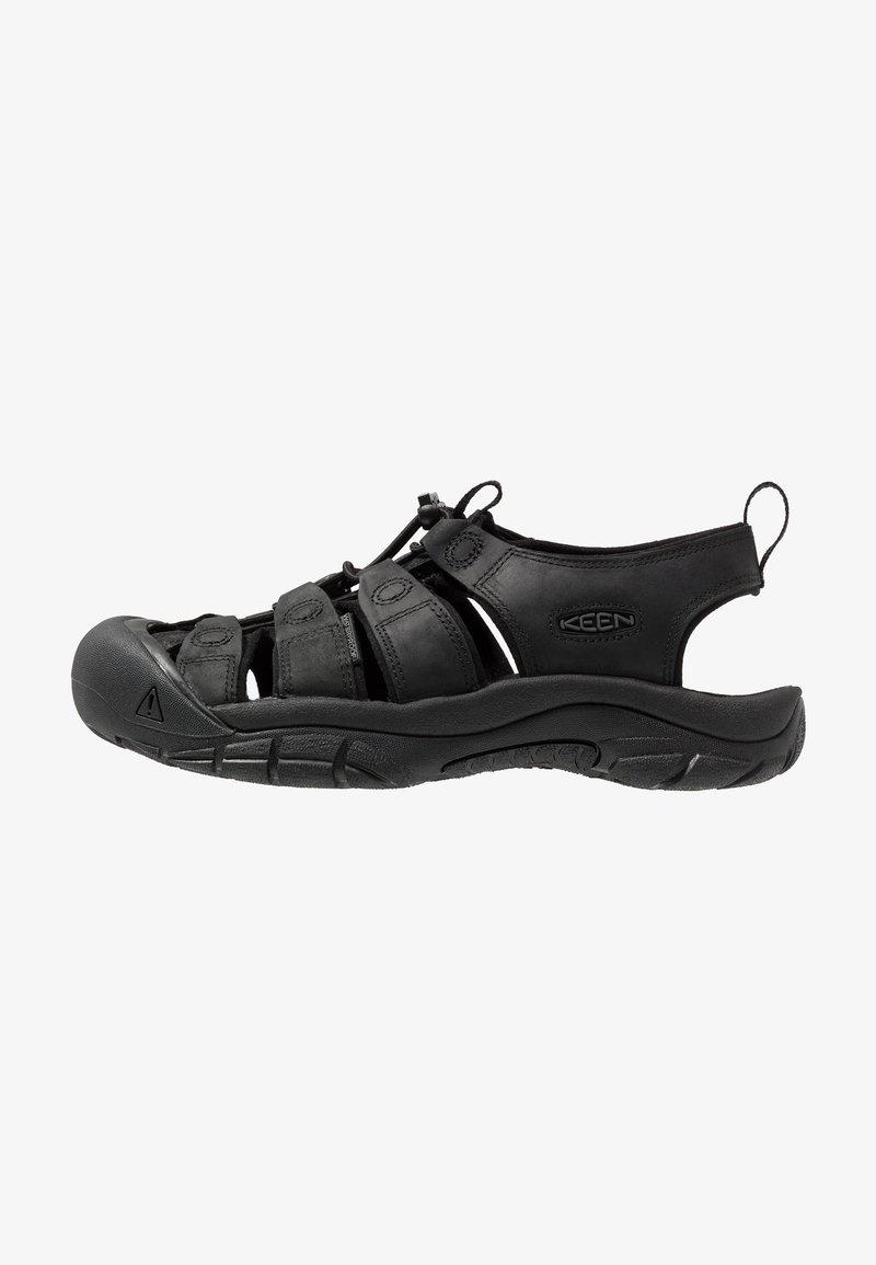 Keen - NEWPORT - Sandały trekkingowe - black