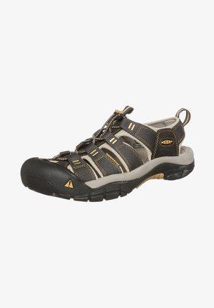 NEWPORT H2 - Walking sandals - raven/aluminium