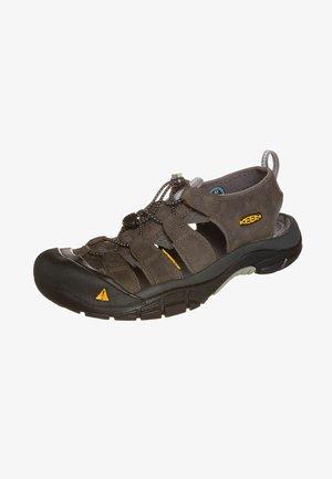 NEWPORT - Walking sandals - neutral gray/gargoyle