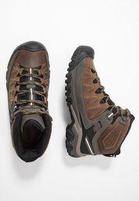 Keen - TARGHEE III MID WP - Hikingskor - bungee cord/black - 1