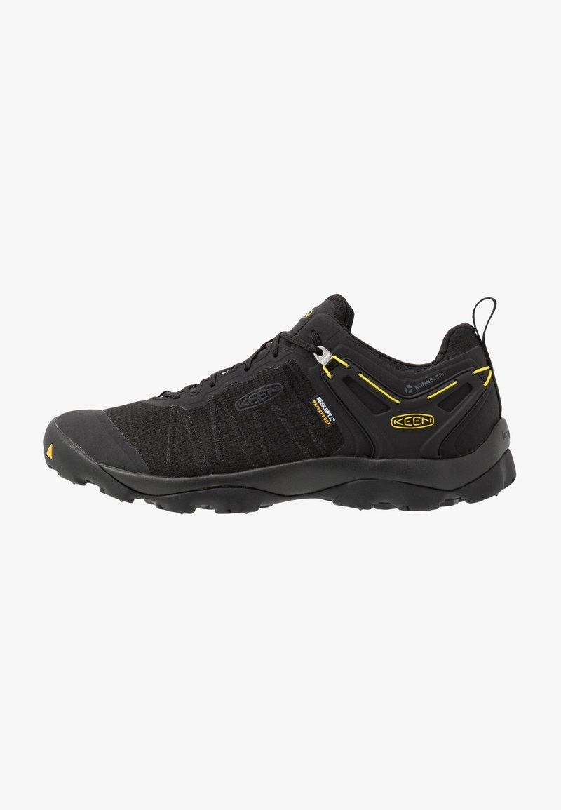 Keen - VENTURE WP - Hikingskor - black/yellow