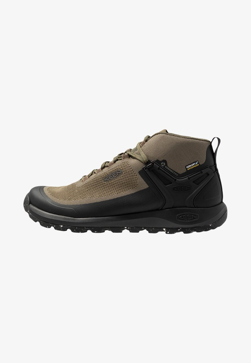Keen - CITIZEN EVO MID  - Outdoorschoenen - olive night/black