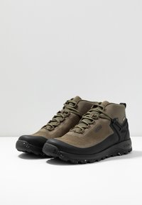 Keen - CITIZEN EVO MID  - Outdoorschoenen - olive night/black - 2
