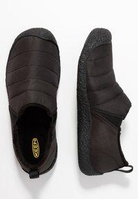 Keen - HOWSER II - Sportieve wandelschoenen - black/steel grey - 1