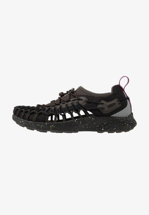 UNEEK - Hiking shoes - black spray