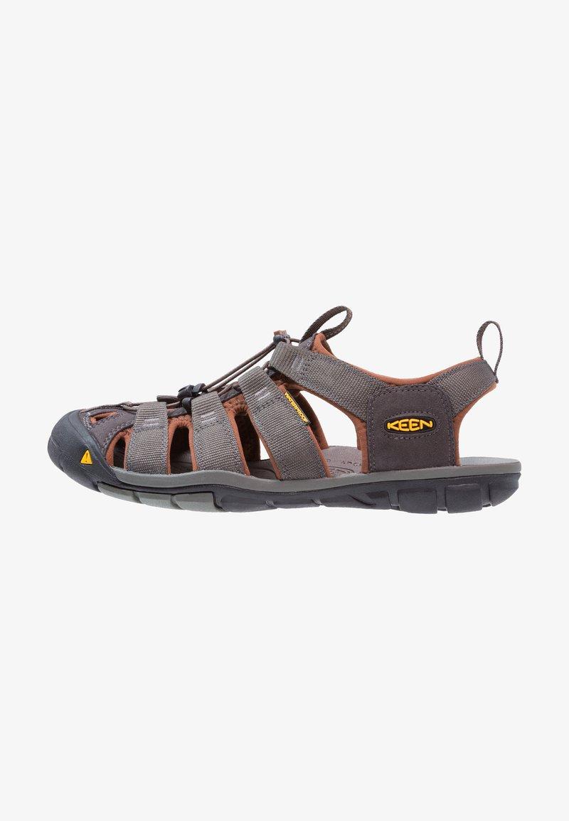 Keen - CLEARWATER CNX - Walking sandals - raven/tortoise shell