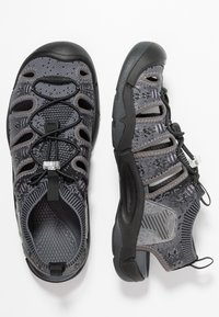 Keen - EVOFIT ONE - Outdoorsandalen - heathered black/magnet