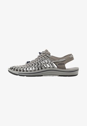 UNEEK - Sandały trekkingowe - steel grey/drizzle