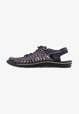 UNEEK - Walking sandals - kasane/black