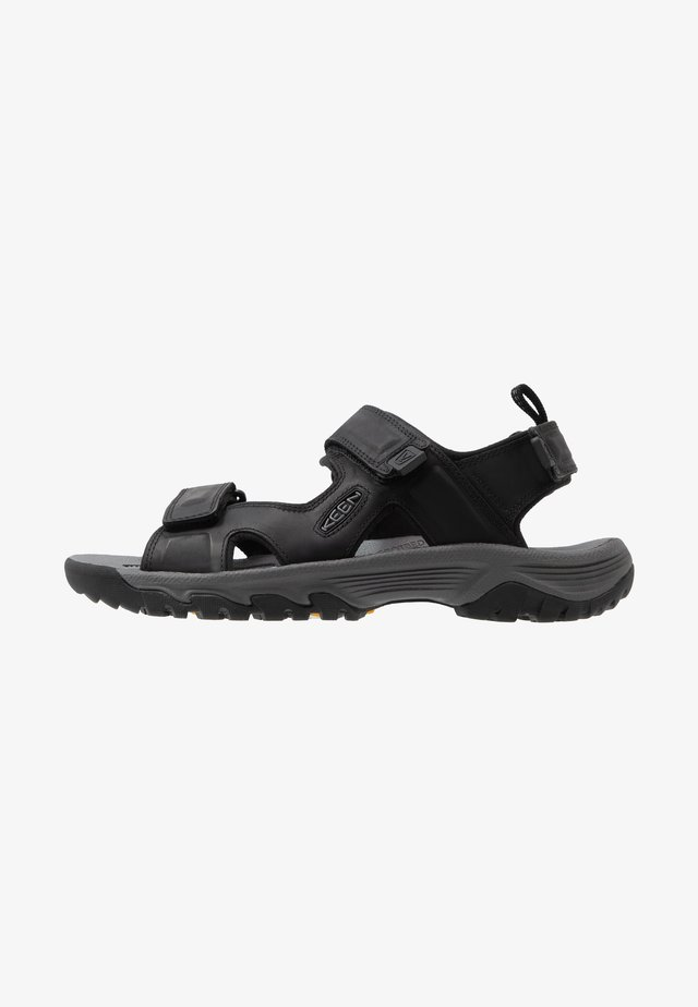 TARGHEE III OPEN TOE  - Walking sandals - black/grey