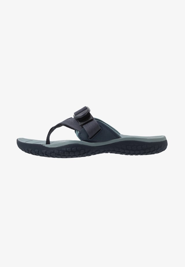 SOLR TOE POST - Walking sandals - navy