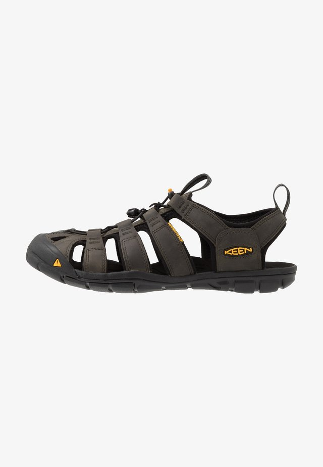 CLEARWATER CNX - Walking sandals - magnet/black