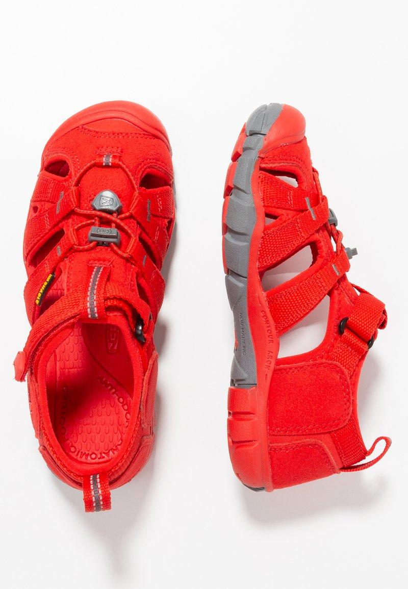 Keen - SEACAMP II CNX - Sandały trekkingowe - fiery red