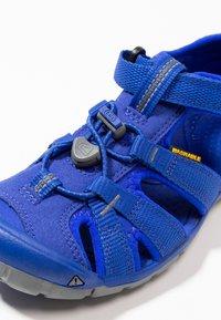 Keen - SEACAMP II CNX - Chodecké sandály - bright blue - 2