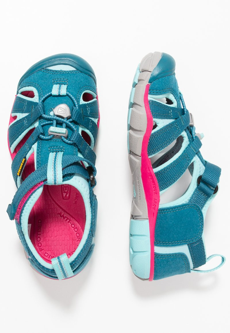 Keen - SEACAMP II CNX - Sandales de randonnée - deep lagoon/bright pink