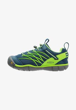 CHANDLER CNX - Hiking shoes - poseidon/jasmine green