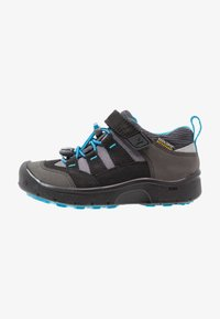 Keen - HIKEPORT WP - Fjellsko - black/blue jewel - 0