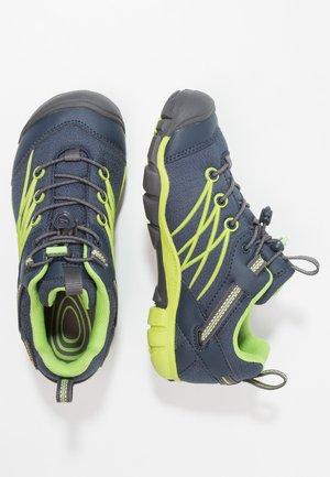 CHANDLER CNX WP - Hiking shoes - dress blues/greenery