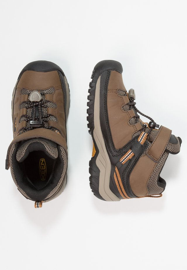 TARGHEE MID WP - Hiking shoes - dark earth/golden brown