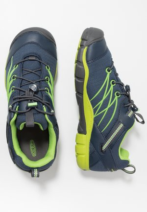 CHANDLER CNX WP - Hiking shoes - dress blues/greenery