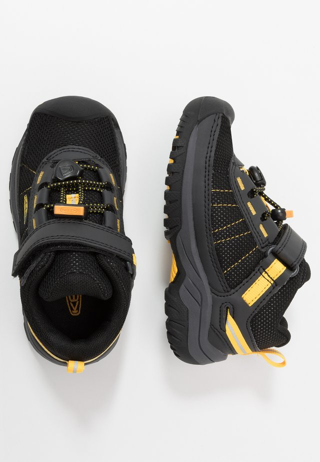 TARGHEE SPORT - Hiking shoes - black/yellow
