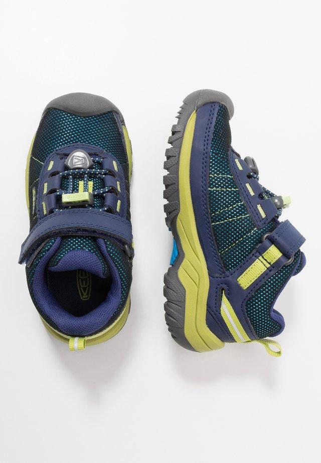 TARGHEE SPORT - Obuwie hikingowe - blue depths/chartreuse