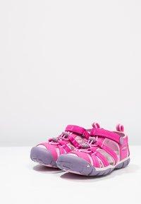 Keen - SEACAMP II CNX - Chodecké sandály - very berry/lilac chiffon - 2