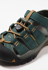 Keen - NEWPORT H2 - Sandały trekkingowe - green gables/wood thrush - 2