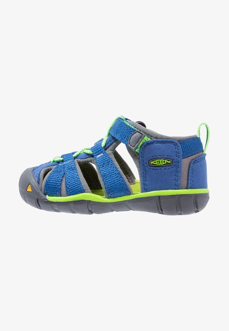Keen - SEACAMP II CNX - Sandały trekkingowe - true blue/jasmine green