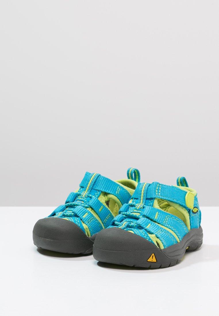 KEEN Newport H2 Chaussures Enfants Hawaiian Blue Green Glow 37