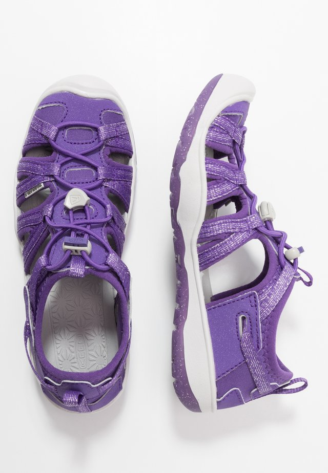 MOXIE - Walking sandals - royal purple/vapor