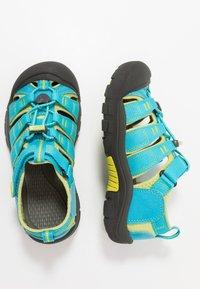 Keen - NEWPORT H2 - Chodecké sandály - hawaiian blue/green glow - 0
