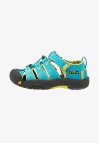 Keen - NEWPORT H2 - Chodecké sandály - hawaiian blue/green glow - 1