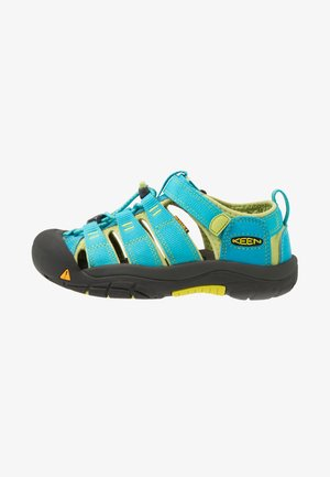 NEWPORT H2 - Walking sandals - hawaiian blue/green glow