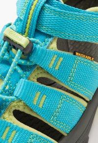 Keen - NEWPORT H2 - Chodecké sandály - hawaiian blue/green glow - 2