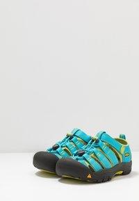 Keen - NEWPORT H2 - Chodecké sandály - hawaiian blue/green glow - 3