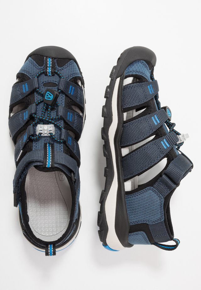 NEWPORT NEO H2 - Walking sandals - blue nights/brilliant blue